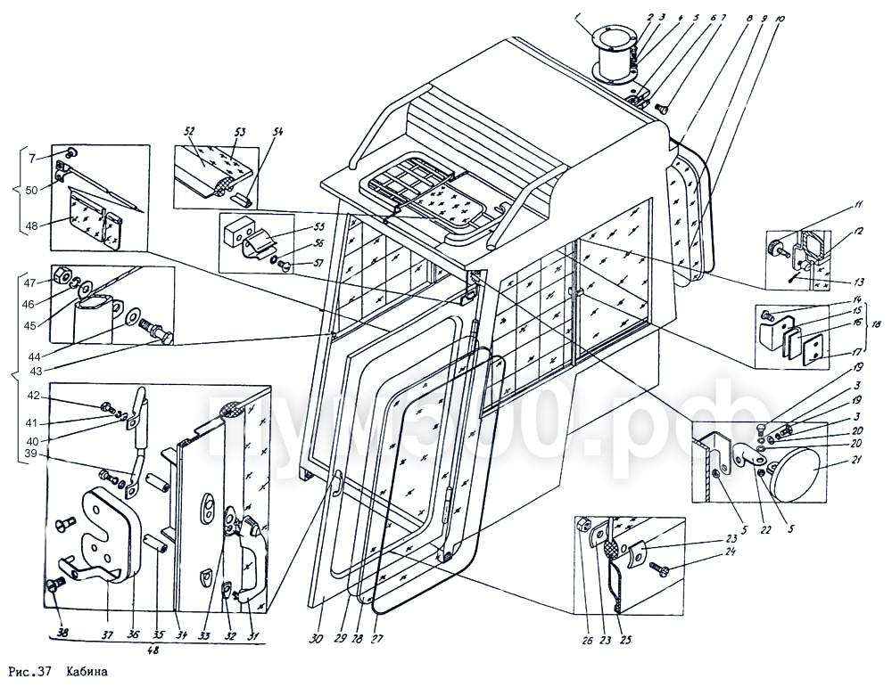 ПУМ-500 - Кабина П1.1Зсб-2