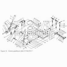 ПУМ-500 Установка левой колонки управления П1.11.06.001сб-1
