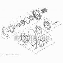 ПУМ-500 Тормоз П1.01.03.031сб (01)