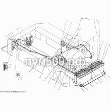 ПУМ-500 Электрооборудование шасси П1.01.13сб