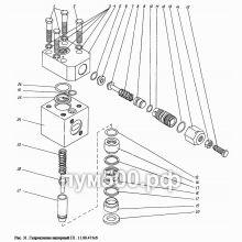 ПУМ-500 Гидроклапан напорный П1.11.00.415сб