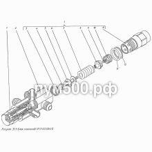 ПУМ-500 Блок клапанов П1.11.03.004сб