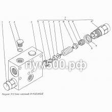 ПУМ-500 Блок клапанов П1.11.03.005сб