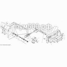 ПУМ-500 Снегоочиститель роторный П1.39.02сб