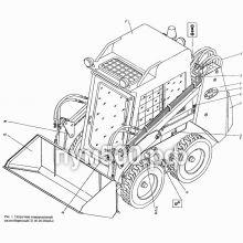 ПУМ-500 Погрузчик универсальный малогабаритный П1.00.00.000сб-4