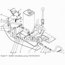 ПУМ-500 Привод к топливному насосу П1.01.07.627сб-01