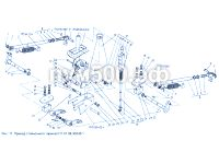 Привод стояночного тормоза П1.01.08.300сб-1 ПУМ-500