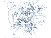 Подсоединение к гидропанели П1.11.00.032сб ПУМ-500