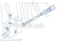 Блок клапанов П1.11.03.005сб ПУМ-500