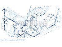 Установка правой колонки управления П1.11.02.200сб ПУМ-500