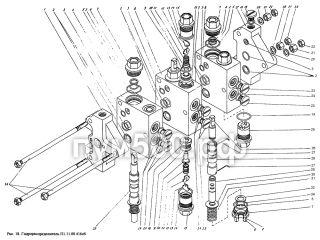 Гидрораспределитель П1.11-00.416сб ПУМ-500