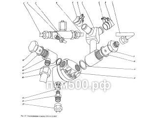 Подсоединение к насосу 210.16.12.001Г ПУМ-500