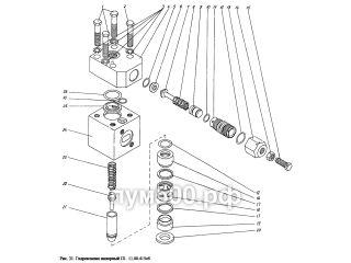 Гидроклапан напорный П1.11.00.415сб ПУМ-500