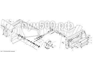 Снегоочиститель роторный П1.39.02сб ПУМ-500