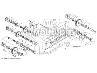 Редукторы П1.01.03.000сб-3 (01) ПУМ-500